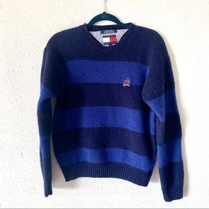 Tommy Hilfiger wool sweater large